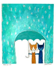 dean _ pete the cat weather or not