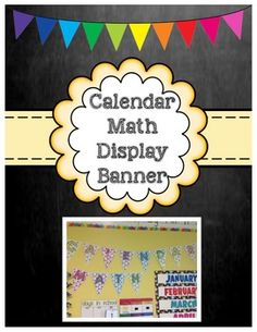 Calendar Math Display Banner