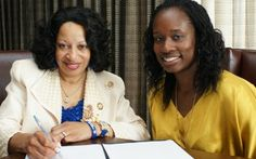 POODLES HIT THE POOL:  Sigma Gamma Rho Promotes Swimming and Water Safety