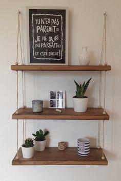 tag re suspendue en bois corde et perles mon diy cordes suspendu et tuto. Black Bedroom Furniture Sets. Home Design Ideas
