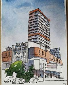 Pawagam Kapitol Baru, Jalan Meldrum, Johor Bahru. | Flickr - Photo Sharing!