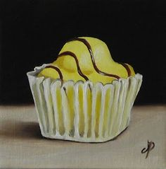 Jane Palmer Fine Art: French Fancies - New Sites Candy Drawing, Food Drawing, Cakes Originales, Sweets Art, French Fancies, Gcse Art Sketchbook, Candy Cakes, Food Painting, My Best Recipe