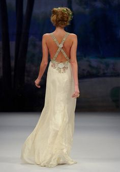 Jolie wedding dress for $600 during Claire Pettibone Flashback Sample Sale 2 weeks only!