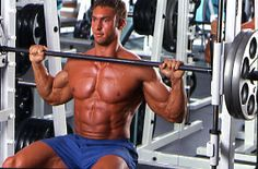 Exclusive WorkoutTrainer.com Article: Huge Shoulders For a Small Waist - Widen the Top to Shrink the Bottom with this routine by Ian Lauer. #Fitness #Gym #Health #Training #Weights #Workout #BodyBuilding #Shoulders
