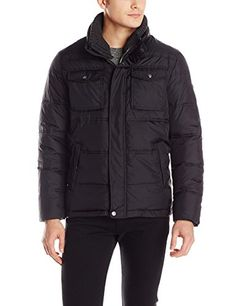 Calvin Klein Men's Quilted Puffer Jacket with Knit Collar, Black, Small Calvin Klein http://www.amazon.com/dp/B00KDXRR14/ref=cm_sw_r_pi_dp_-pLAub0MMSG77