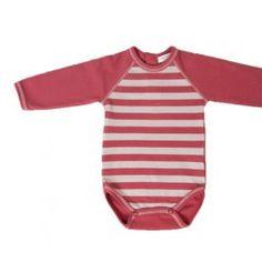 Body para bebé de algodón orgánico de la marca Kiraw.
