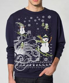 Ugly Christmas sweater  Octopus Snowman  pullover  by skipnwhistle, $29.00    Thought you might like this, @Angie Grande