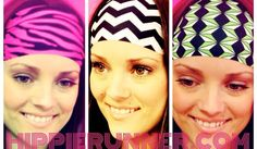 The #1 selling No Slip No Drip headbands! www.hippierunner.com
