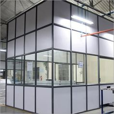 Get exclusively range of aluminium partitions manufactured from optimum quality materials and available in different designs and sizes as per clients requirement.