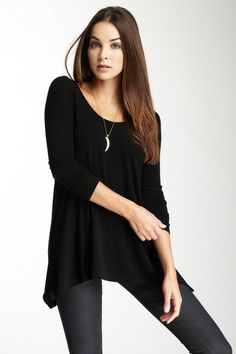 Long Sleeve V-Neck Thermal Sweater by Go Couture on @HauteLook ...