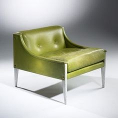 Gio Ponti, #12 Lounge Chair for Poltrona Frau, 1966.