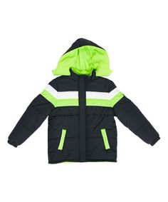 17a56f83f0cc Boys winter coats green