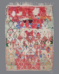 vintage Moroccan rug, Azilal #AZ64