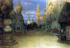 Красная площадь. 1897. Васнецов Аполлинарий Михайлович (1856-1933)
