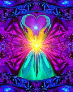 Positive Healing Energy Chakra Wall Art The by primalpainter