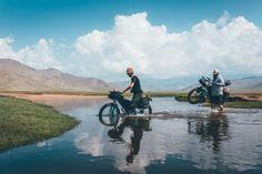 Bikepacking Mongolia, Khangai Mountains. an inspiring bicycle touring route.