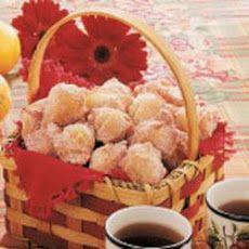 Applesauce Drop Doughnuts II Recipe