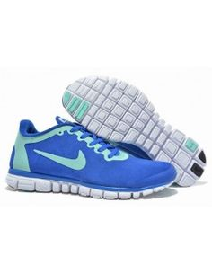 Nike FREE 3.0 RUN + 2S Blue Lime HUANG WOOL SKIN