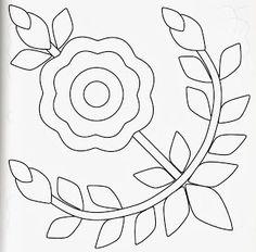 baltimore bride rose of sharon pattern Wool Applique Patterns, Applique Templates, Hand Applique, Felt Applique, Applique Quilts, Applique Designs, Embroidery Applique, Quilting Designs, Embroidery Patterns
