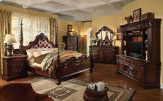 Classic Bedroom Furniture, Bedroom Furniture Design, Master Bedroom Design, Bedroom Designs, Royal Furniture, Bed Designs, Kitchen Furniture, Modern Bedroom, Luxury Furniture