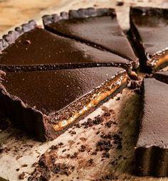 """Torta de chocolate e doce de leite; receita do livro """"Minha Cozinha em Paris"""""""