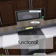 Mod The Sims - Wall Microwaves