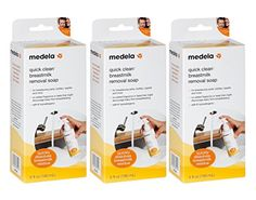 Medela Quick Clean Breast Milk Removal Soap 6 Ounce 3 Pack >>> More info could be found at the image url.