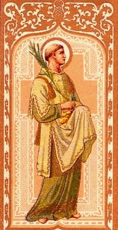 The first Martyr for Christ!    St Stephen, Martyr, December 26th