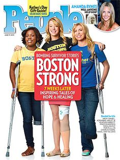Boston Strong: How 11 Survivors Of The Boston Marathon Bombing Are Coping Boston Marathon Bombing, Adaptive Sports, Appreciate Life, Boston Strong, Amanda Bynes, Running Motivation, People Magazine, My People, Fathers Day Gifts