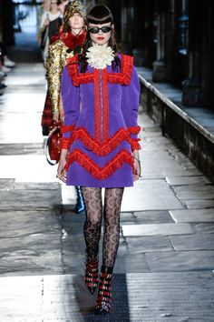 Gucci Resort 2017 Fashion Show Collection