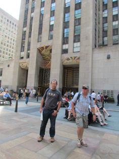 Around Rockefeller Center