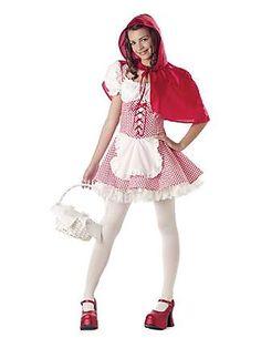 Little Red Riding Hood Tween Costume