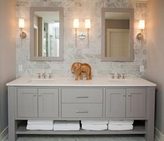 Double vanity bathroom ideas incredible double bathroom vanities best double sink vanity ideas only on double sink bathroom double vanity lighting ideas Bad Inspiration, Bathroom Inspiration, Cabinet Inspiration, Mirror Inspiration, Double Sink Vanity Top, Double Sinks, Bathroom With Double Vanity, White Double Vanity, Master Bathroom Vanity