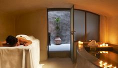 Zannos Melathron Hotel: Spa treatments use local ingredients, including the antioxidant grapes found around the island.