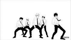 amaama to inazuma! Such a cute anime Haikyuu Kageyama, Haikyuu Manga, Haikyuu Fanart, Kagehina, Hinata, Haikyuu Characters, Anime Characters, Haikyuu Facebook, Amaama To Inazuma