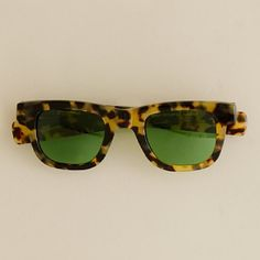 A.R. Trapp troubadors - tortise frames. Green lenses. I want you.