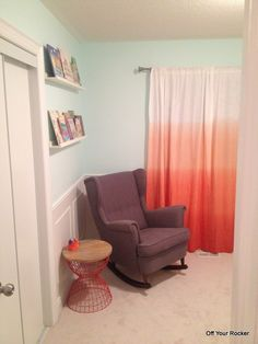 DIY Ikea Rocking Chair Strandmon Chair by adding rocker rails from this company offyourrocker.ca Nursery Rocker, Rocking Chair Nursery, Strandmon Chair, Off Your Rocker, Slipcovers, Contemporary, Modern, Diy Furniture, Ottoman