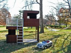 If It's Hip, It's Here: Modern Modular Eco-Friendly Indoor and Outdoor Playhouses for Kids.
