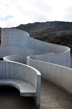 Reiulf Ramastad Architects, Sculptural Tourist Route, Norway