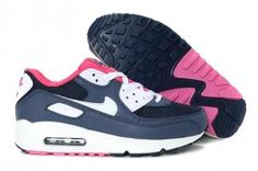 buy popular be634 203b5 Air Max 90 Pas Cher Femme Chaussures De Course Obsidian