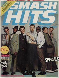The Specials on the cover of Smash Hits, September 1979.