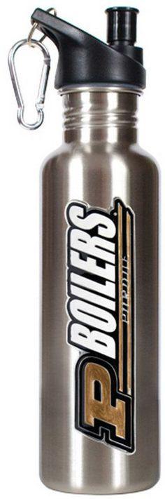 Kohl's Purdue Boilermakers Stainless Steel Water Bottle