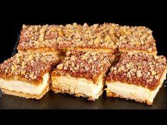 Spróbujesz raz i nie zdołasz sobie odmówić. Food Cakes, Dessert Bars, Dessert Sans Four, Cake Recipes, Dessert Recipes, Pie Crumble, Salty Snacks, Hungarian Recipes, Breakfast Pizza