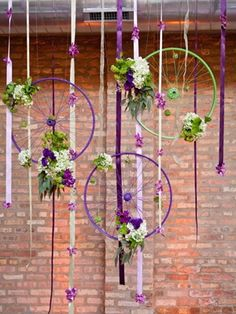 wedding decorating with bicycles | cutest bike-themed wedding on Green Wedding Shoes… lots more bike ...