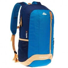 XSports Decathlon Quechua Hiking Camping Water Repellent Backpack Arpenaz 20L BlueBeige >>> Click on the image for additional details. Amazon Affiliate Program's Ads.