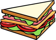 Risultati immagini per sandwich cartoon png