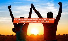 5 razones por las que hacer ejercicio con tu pareja es una maravillosa idea (si… ¡en serio!). ¡Comienza a leer y averiguarás el porqué! #loveisintheair #sanvalentin #fitnessblog #coupleexercise