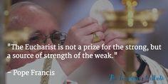 Pope Francis . Corpus Christi