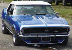 1968 Chevrolet Camaro Convertible SS 396 - Blue