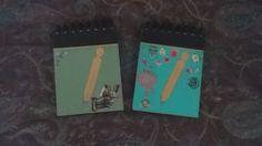 """Echa un vistazo a nuestras #libretas de notas """"Collage"""":  ¡Incluyen bolígrafo en la tapa!   http://www.manosinkietas.com"""